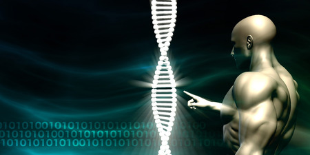 science background: DNA Background and Human Testing Biotechnology as Art
