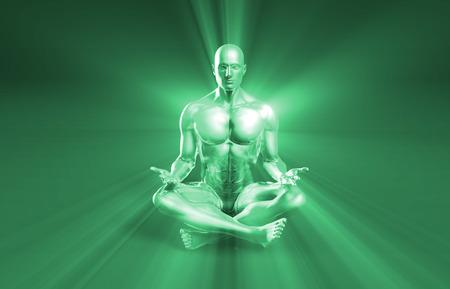 hombres maduros: Zen Estado y de un Concepto Mente Pacífica o calma