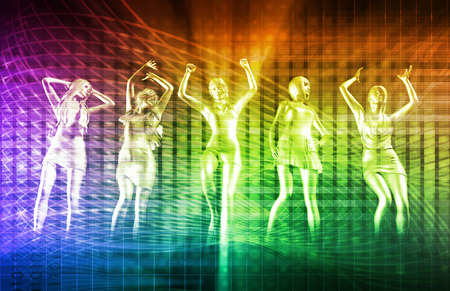 musica electronica: Disco Music Techno Partido electrónico fondo de arte