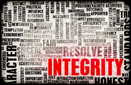 company person: Integrity in a Company and Person Character