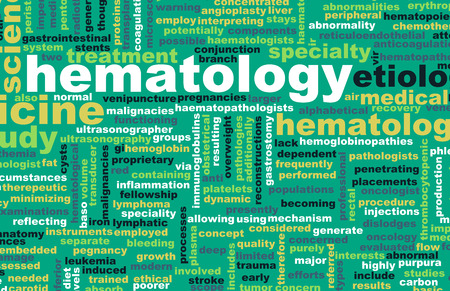 medical field: Hematology or Hematologist Medical Field Specialty As Art