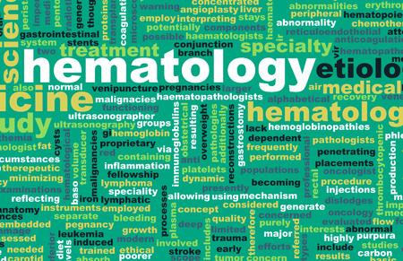 hematology: Hematology or Hematologist Medical Field Specialty As Art