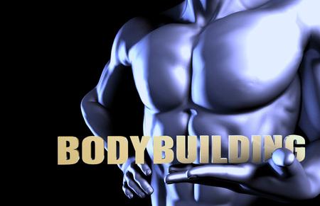 grupos de personas: Bodybuilding With a Business Man Holding Up as Concept Foto de archivo