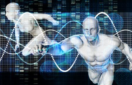 Médecine Sport et Fitness Analytics comme un Concept