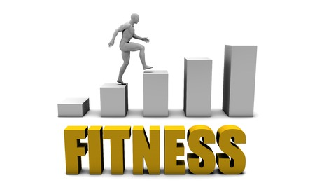 increase business: Increase Your Fitness  or Business Process as Concept