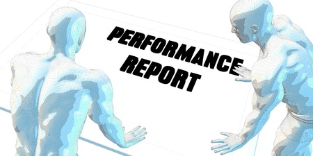 performance art: Performance Report Discussion and Business Meeting Concept Art