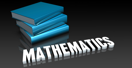 mathematic: Mathematics Class for School Education as Concept Stock Photo