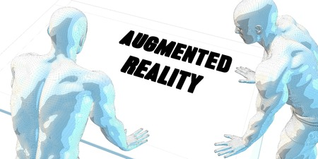 serious business: Augmented Reality Discussion and Business Meeting Concept Art