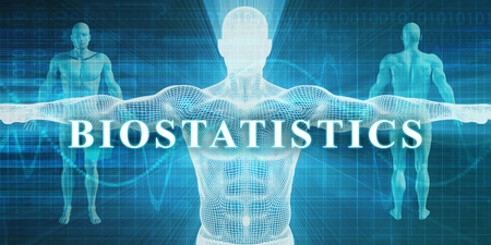 Biostatistics as a Medical Specialty Field or Department Stockfoto