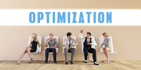 discussed: Business Optimization Being Discussed in a Group Meeting