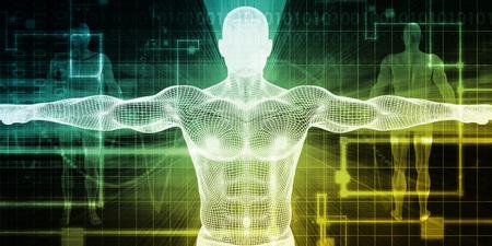 Biomedical Engineering or Biology Medical Bioligcal Concept Banque d'images