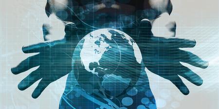 Système robuste et évolutive avec données en temps réel Banque d'images