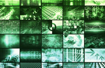 e data: Digital Marketing and Social Network as Interface Stock Photo