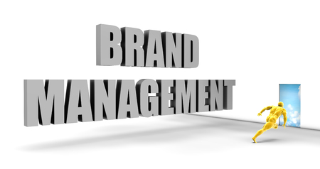 fast track: Brand Management as a Fast Track Direct Express Path Stock Photo