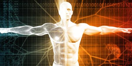 Pigénétique comme un champ d'étude des sciences de la génétique Banque d'images - 53356474