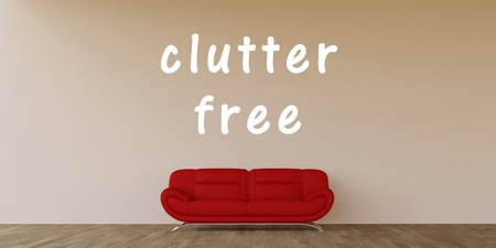 clutter: Clutter Free Concept with Home Interior Art