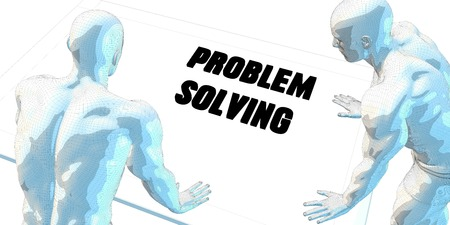 business meeting: Problem Solving Discussion and Business Meeting Concept Art Stock Photo
