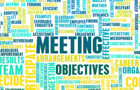 reuniones empresariales: Business Meeting Presentation Background as a Concept