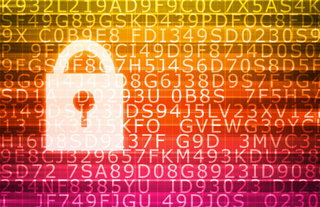 internet safety: Internet Safety and Keeping Data Safe for Privacy Stock Photo