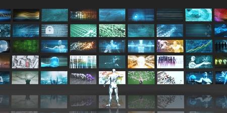 通信: Advertising Network Background as an Abstract Concept