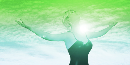 arms wide open: Embrace Change with Lady Arms Wide Open and Being Positive