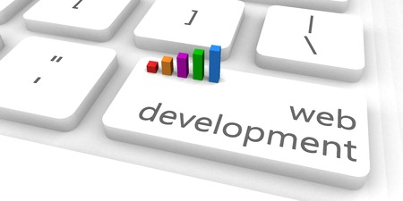 business software: Web Development as a Fast and Easy Website Concept