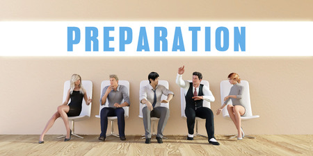 discussed: Business Preparation Being Discussed in a Group Meeting