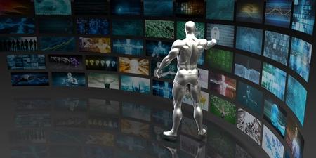 aggregation: Digital Data Management and Content Aggregation Concept