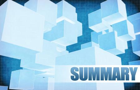 summary: Summary on Futuristic Abstract for Presentation Slide
