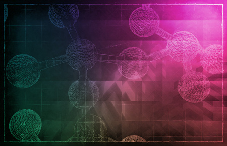 clinical research: DNA Helix Abstract Science Genetic Background Art Stock Photo