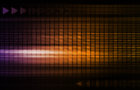 telecommunication: Abstract Network Illustration with System Data Art Stock Photo