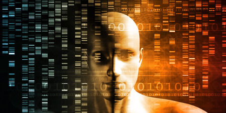 scientific: Genome Sequence and Medical Breakthrough as a Science Concept