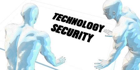business meeting: Technology Security Discussion and Business Meeting Concept Art