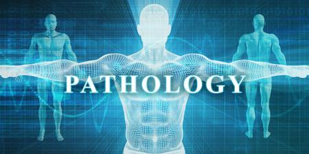 Patología como un campo de especialidad médica o departamento Foto de archivo