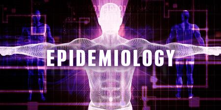 epidemiology: Epidemiology as a Digital Technology Medical Concept Art