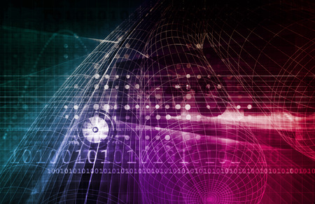 secret code: Computer Security Concept for Digital or Online Data Stock Photo