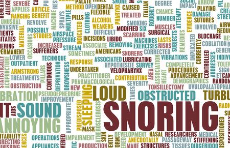 molesto: El ronquido o apnea del sue�o como un rasgo molesto