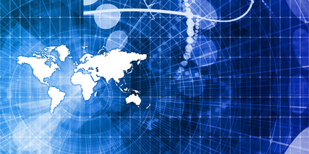 supply: Logistics Network and Global Supply Chain Background