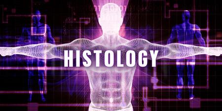 histology: Histology as a Digital Technology Medical Concept Art