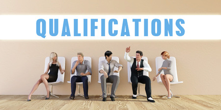 qualifications: Business Qualifications Being Discussed in a Group Meeting