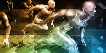 Gesundheitswesen, Forschung, Technologie und Lösungen als Konzept Standard-Bild - 59444264