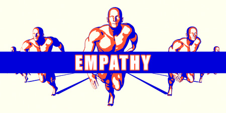 empathy: Empathy as a Competition Concept Illustration Art