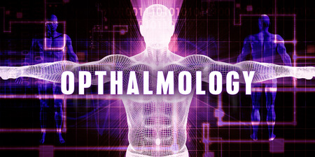 opthalmology: Opthalmology as a Digital Technology Medical Concept Art
