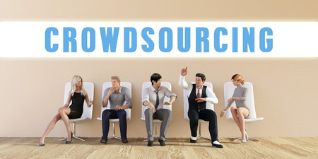 discussed: Business Crowdsourcing Being Discussed in a Group Meeting
