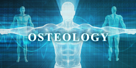 specialty: Osteology as a Medical Specialty Field or Department Stock Photo