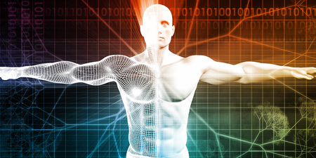 medical testing: Medical Testing and Body Checkup of a Human Male
