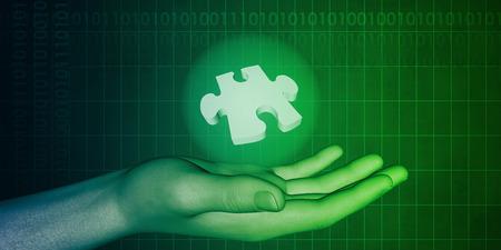 ingenieria industrial: Ingeniería industrial con concepto de diseño Business Solutions