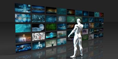 identifying: Media Monitoring as a Marketing Mass Communications Concept Art