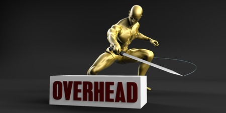 Reduce Overhead and Minimize Business Concept