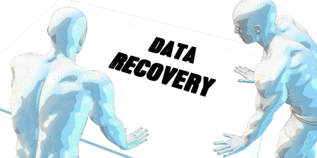 data recovery: Data Recovery Discussion and Business Meeting Concept Art Stock Photo